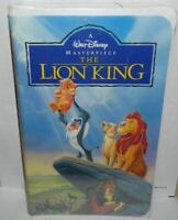 The Lion King 1995 Vhs Walt Disney Classic Factory Sealed Clam Shell