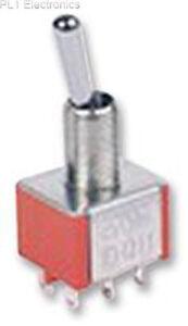 MULTICOMP-1MD2T1B5M1QE-Schalter-Lot-Tag-Dpdt-On-Mom