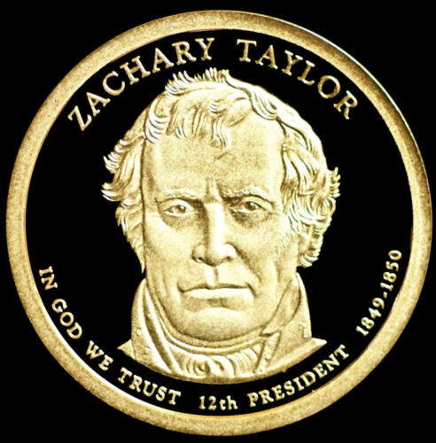 2009 S Zachary Taylor ~ Mint Proof Presidential Dollar from Proof Set
