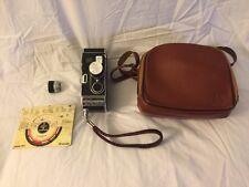Vintage Bolex Paillard B8 8mm Movie Camera W/ Kern f/1.9 13mm Lens & Case - NICE