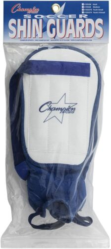 Padded Ankle Protectors Champion Sports Ultra-Light Soccer SHIN GUARDS