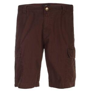Dickies - Hombre New York Pantalones Cortos Marrón Chocolate Marrón
