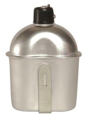 Repro US Army 1 Ltr Feldflasche mit Becher Alu Field Bottle WWII Flasche