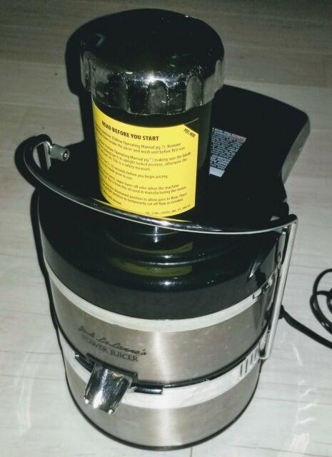 Jack Lalanne's Power Juicer MT 1000