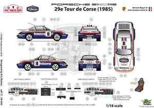 FFSMC-Productions-Decals-1-18-Porsche-SCRS-Tour-de-Corse-1985