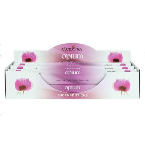 1 Tube Of 20 Sticks Incense sticks Opium Elements