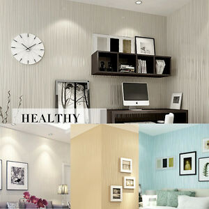 10m-Modern-Line-Flocking-Non-woven-Embossed-Textured-Wallpaper-Rolls-Wall-Paper