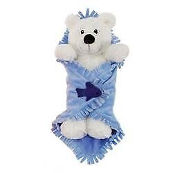 """11/"""" Tiger in Baby Blanket Plush Stuffed Animal Toy by Fiesta Toys"""