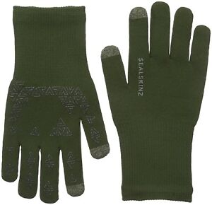 Sealskinz-Ultra-Grip-Gloves-Fully-Waterproof-Windproof-amp-Breathable-Green