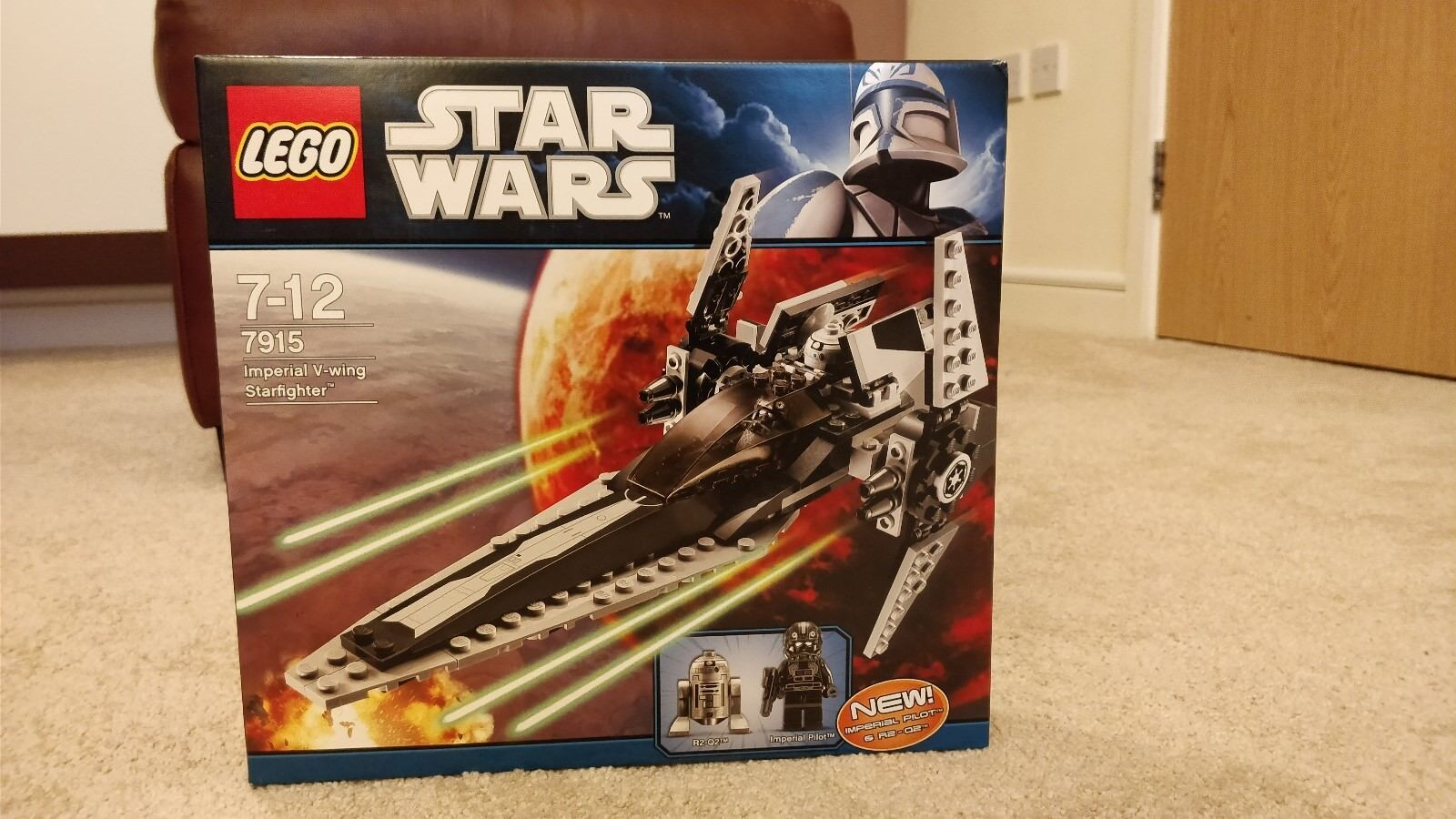 Lego Star Wars 7915 Imperial Imperial Imperial V-Wing Starfighter Neuf Scellé  BNISB 11197b