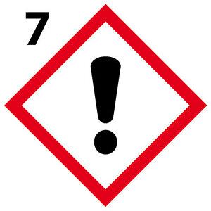 Bien éDuqué Danger Lot 4 Stickers Autocollant Danger Interdit Obligatoire [10cm] Ghs7