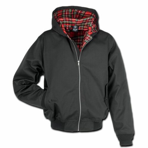 Classic English Style Brandit 3112.2 Lord Canterbury Harrington Hooded Jacket