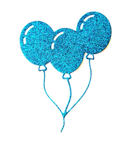 8 Party Balloons Die Cuts Birthdays Ch Celebration Parties Any Colour//Card!