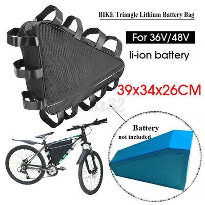 Mountain Bike Triangle Large Capacity Tube Frame Bag Kit Tool Battery Bag 39cm