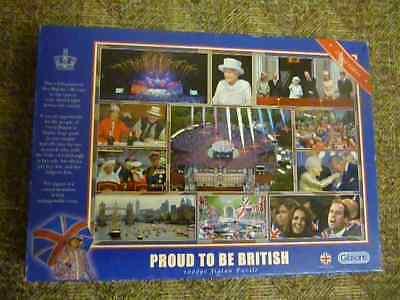"""""""orgoglioso Di Essere Inglesi"""" 1000 Pezzi Gibsons Puzzle Edizione Limitata-mostra Il Titolo Originale"""