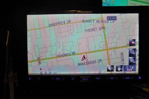 PIONEER AVIC-Z1 AVIC-Z2 AND AVIC-Z3  LCD SCREEN MOTORIZATION REPAIR SERVICE