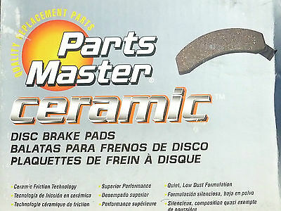 Brand New Parts Master CMX921 Ceramic Disc Brake Pads