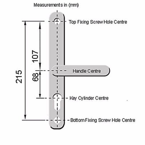 Hoppe Gold 68PZ Lever Door Handles Upvc Doors Fullex