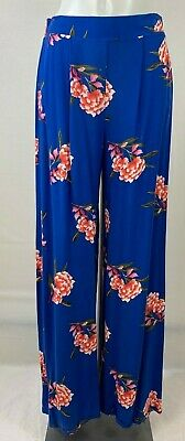 New Ladies EX George Print Palazzo Trousers size 8 12 18 20 22 24