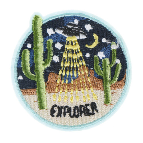 Cactus Fabric Patch Embroidered Sew on Patches For Clothing DIY Decoratio Gn