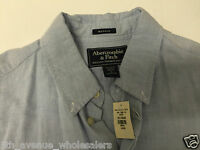 Abercrombie And Fitch Classic Blue Shirt Mens Size L