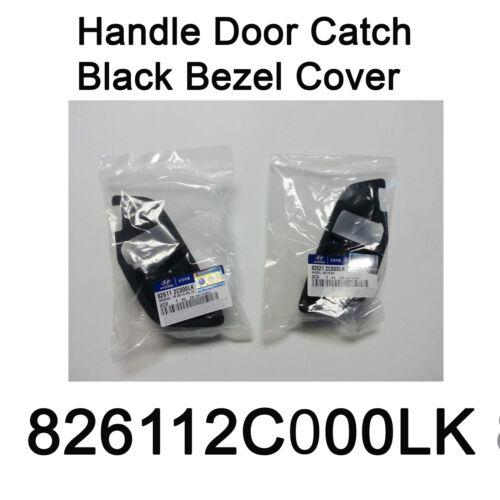 New OEM inside Handle Door Catch Black Bezel Cover for Hyundai Tiburon 03-08
