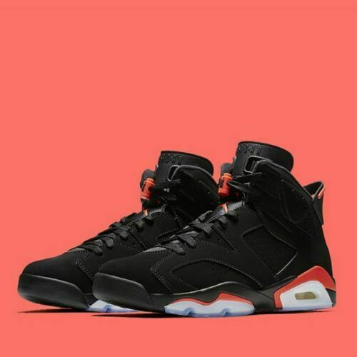 2019 Nike Air Jordan 6 VI Retro Black Infrared Size Size Size 16. 384664-060. a5303b