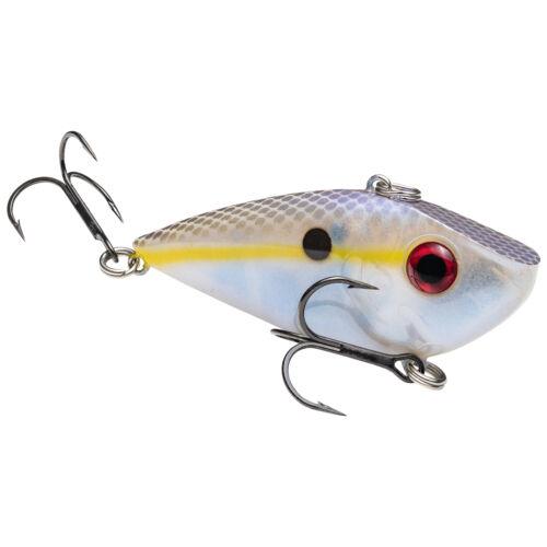 Lipless Crankbait Rattling Bass Fishing Lure Strike King Red Eyed Shad 1//4 oz