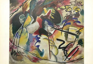 Wassily Kandinsky Lithograph Tableau Avec Formes Blanches Ebay