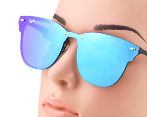 ray ban blaze clubmaster on face