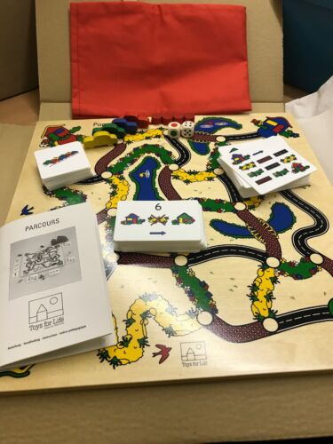 Toys For Life • Parcours • Wooden Game • Improves Many Skills • Observation..,