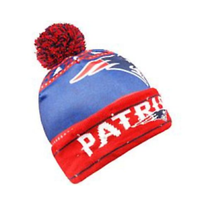 a99a46f6 Details about New England Patriots Officially Licensed NFL Light-Up Beanie  by Team Beans NEW