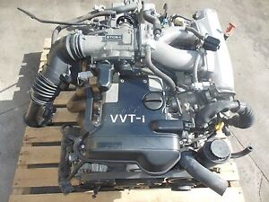 1998-2005 Toyota Aristo 2JZ-GE VVTI Engine Lexus IS300 3 ...
