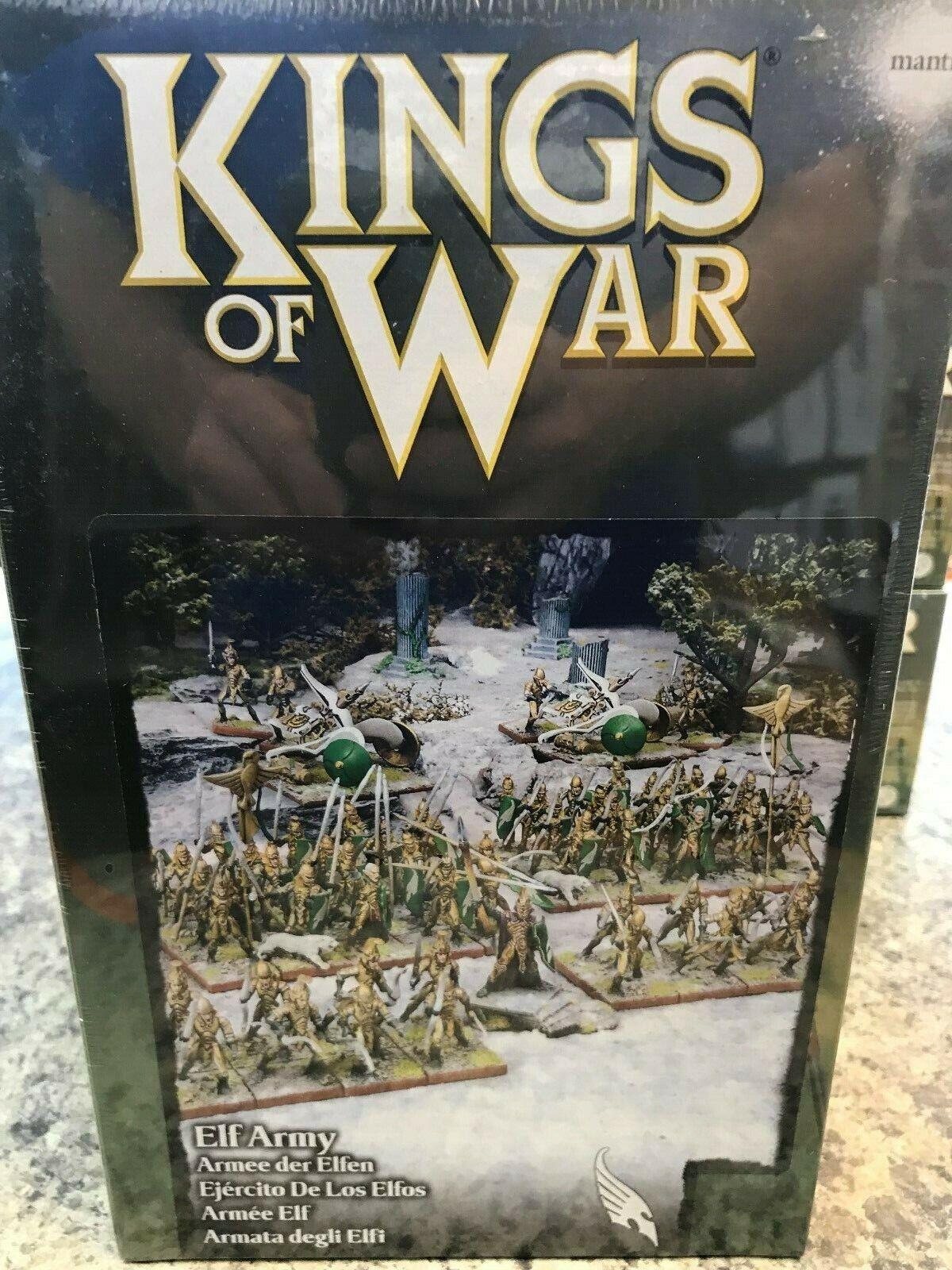 Elf Army Starter Set Mantic Miniatures Games Kings of War Warlords Erehwon