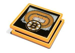 Boston Bruins 3D Stadium Views Coaster Set (New) Canada Preview