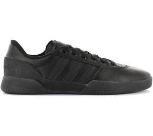 pretty nice 4652c a1cc5 Das Bild wird geladen adidas-Originals-City-Cup-Leather-Sneaker-Herren -Skaterschuhe-