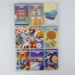 Time-Life-Music-Super-Hits-9-Cassette-Set-1991-Warner-Special-Products