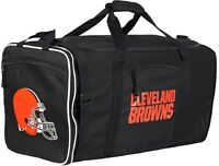 Cleveland Browns Duffle Bag Nfl Mens Gym Travel Team Luggage Tote Sports Duffel