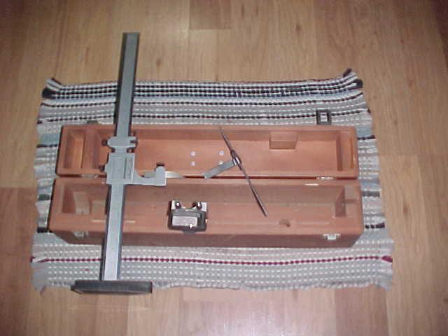 """LS Starrett Model 255-18 Vernier Height Gage 0-18"""" Range .001"""""""