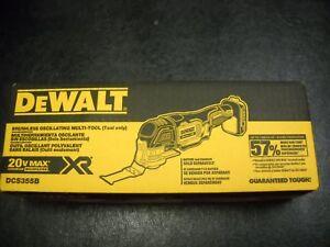 Dewalt-DCS355B-20V-Cordless-Brushless-Oscillating-Multi-Tool-20-Volt-NEW-IN-PACK