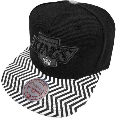 Mitchell /& Ness NHL Los Angeles Kings ZIG ZAG eu134 Snapback Caps cappuccio basecaps