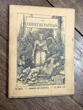 Chappuis - Le Christ au Vatican - Satire anticléricale ANTICLÉRICALISME V. Hugo