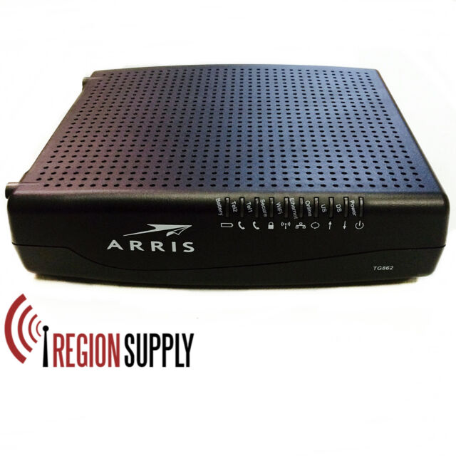 Buy Arris Tg862g Wifi Wirelesstelephony Cable Modem Router