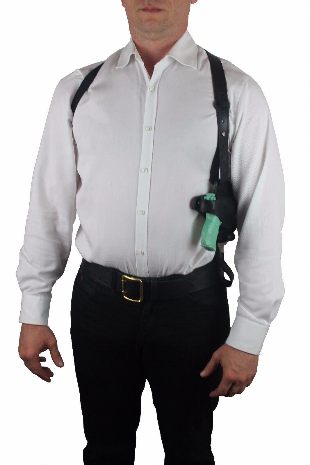 LEDER PISTOLEN SCHULTERHOLSTER für Walther P22 P22 P22 holster schwarz 809c62