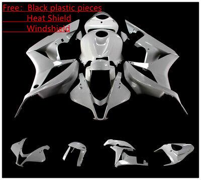 STY Fit Honda 2003 2004 CBR600RR CBR600 F5 Unpainted Fairing Bodywork Kit Set