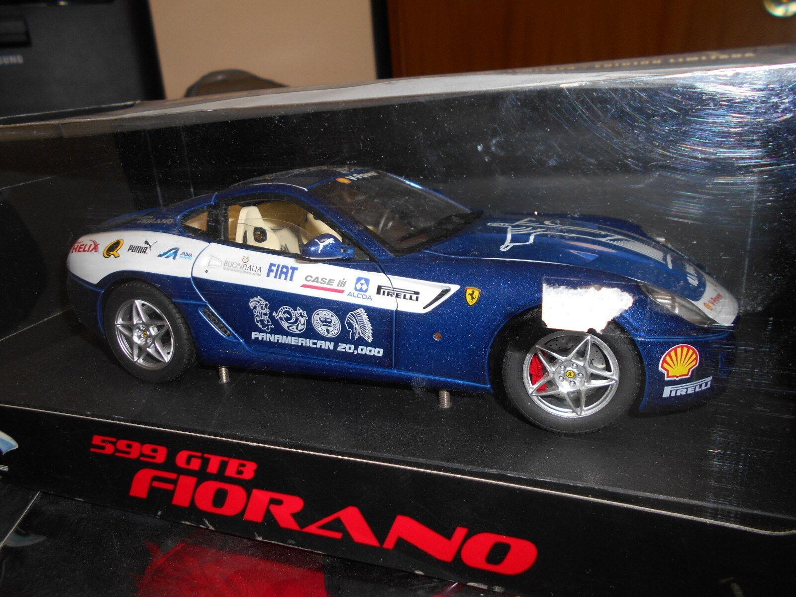 Hwehwej 2917-0510a Ferrari 599 GTB Fiorano Panamerican 20.000 1 18