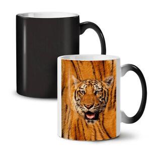 Tiger Nature Cat NEW Colour Changing Tea Coffee Mug 11 oz   Wellcoda