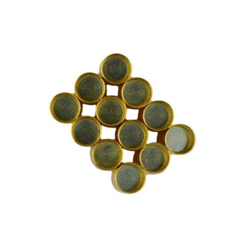 24 Sets Magnetic Clasp Hole Findings for Jewelry Making Silver /& Gold Plated