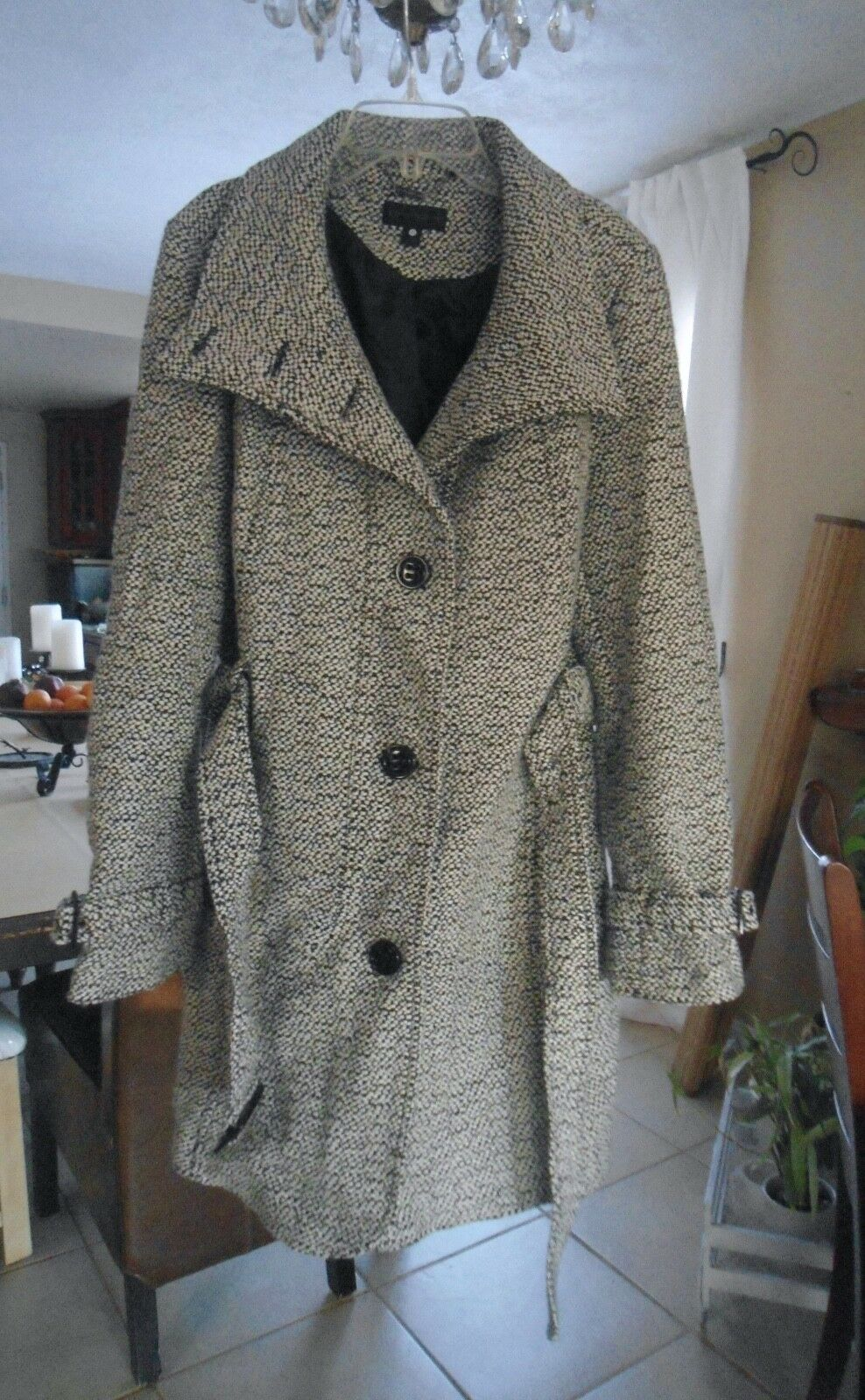 New... WORTHINGTON . Woman's  Wool mixed OUTERWEAR    Size L