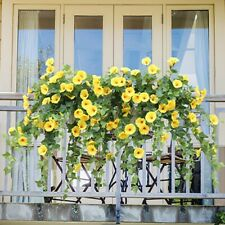 Fake Morning Glory Simulation Petunia Wedding Home Artificial Flowers Hanging CO